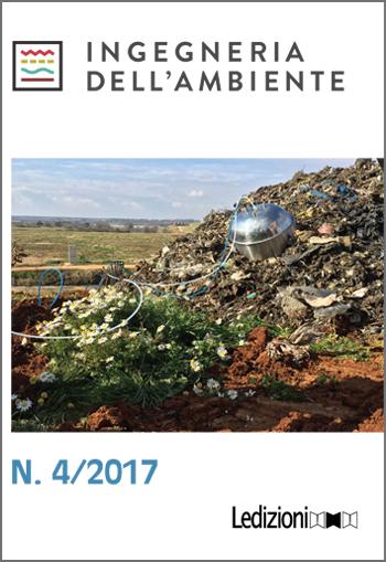 Copertina Rivista Ingegneria dell'Ambiente n. 4-2017